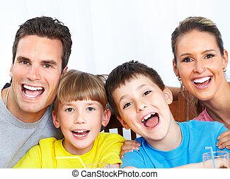 family., boldog