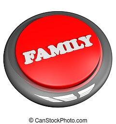 Family button isolated over white