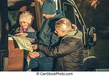 Family Camper Trip Planning