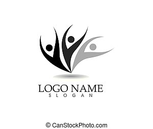 Family care logo vector