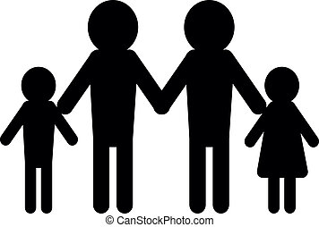 family concept two men