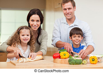 Family cutting ingredients