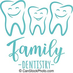 Family dentistry concept