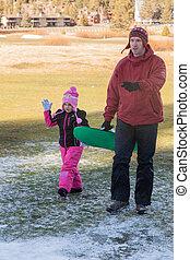 Family Fun in the Snow