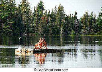 Family fun lake