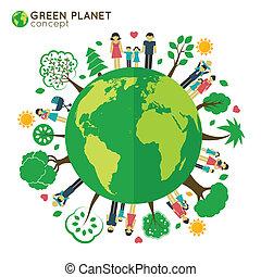 Family globe ecology