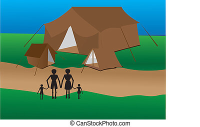Family Going Too Camping