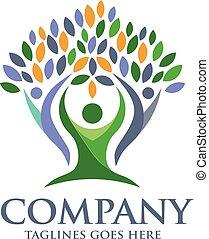 family health logo vector