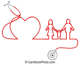 family Healthcare - the symbol of family Healthcare by...
