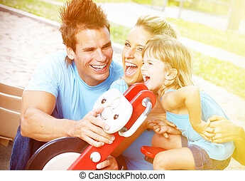 family., heureux