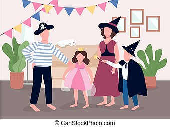 Family holiday celebration