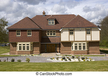 Family home - A modern family detached house in the UK