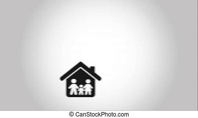 Family icon design, Video Animation