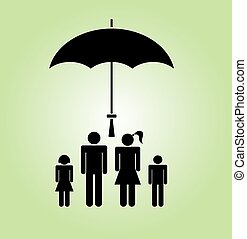family Icon vector illustration