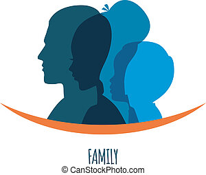 Family icons head
