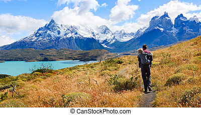 family in patagonia
