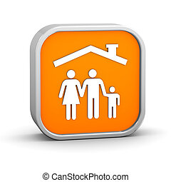 Family insurance sign