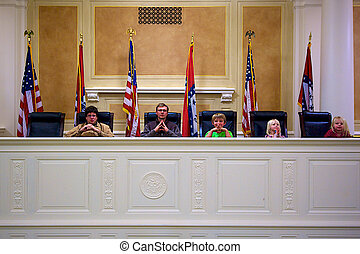 Family Judgement - A humorous look at a state supreme court...