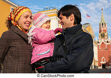 family kremlin russia moscow