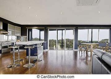 Family Living Area - Wide view of a deluxe living area. ...