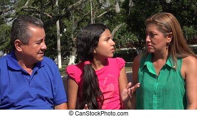 Family Members Having Argument