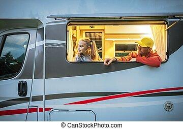 Family Motorhome Road Trip