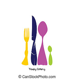 Family of Cutlery, color
