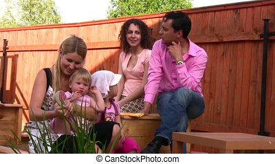 family outdoor