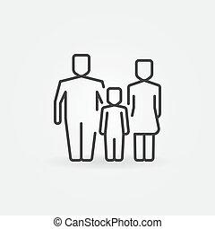 Family outline icon