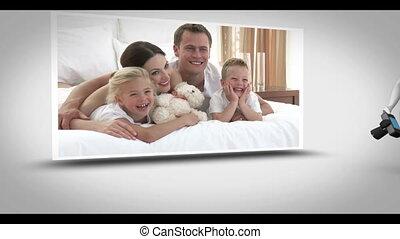 Family photography animation