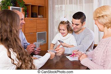 Family play in bridge