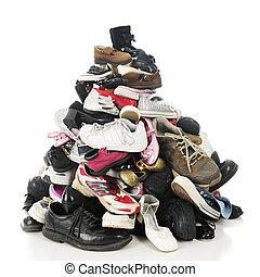 Family Shoe Pile
