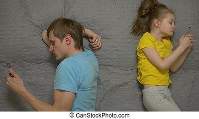 Family Smartphone Addiction - Family smartphone addiction...