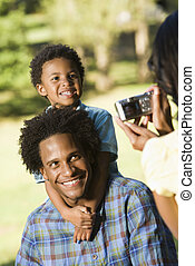 Family snapshots.