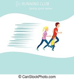 Family Sport Center Running Club Health Program