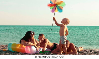 Family Summer Beach Holiday