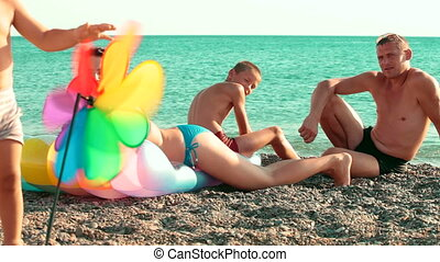 Family Summer Beach Holiday