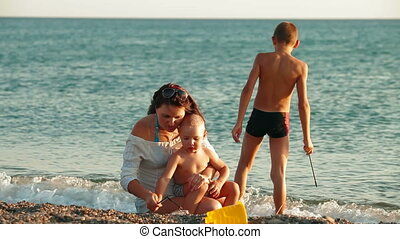 Family Summer Beach Vacation