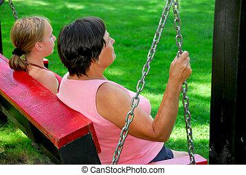 Family swings