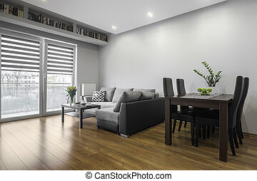 Family table in living room