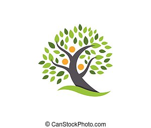 family tree logo design template