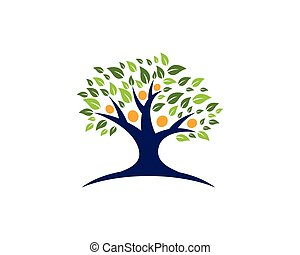 Family Tree Logo template