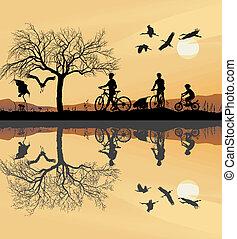 Family Trip to bike