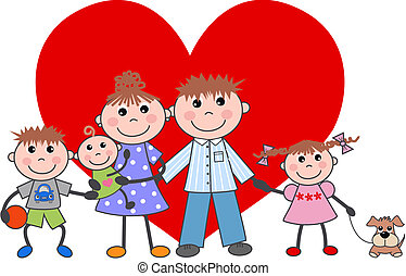 family valentines day love