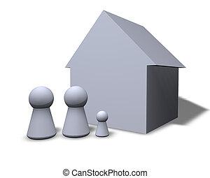 family's, maison