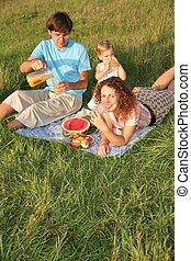 family`s, picnic, 2