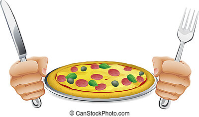 faminto, pizza