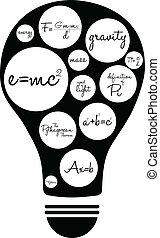 famoso, equazioni