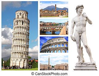 famoso, locali, di, italia