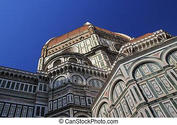 famoso, place., italia, firenze